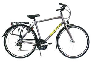 TK-1 installs on a hybrid bike